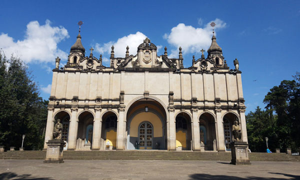 Cathedrals in Addis Ababa